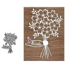 Bouquet Metal Cutting Dies Stencil DIY Scrapbooking  Embossing Paper Card