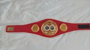 ibf championship belt replica