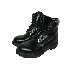 Timberland black patent leather boots size 7 UK Special Edition RRP £180