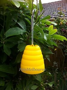 2x New Yellow Universal Wasp Hornet Fly Insect Pest Trap Catcher Killer