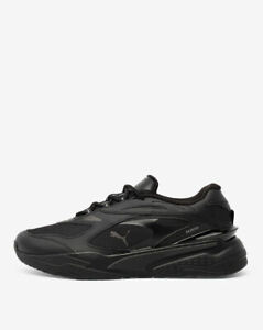 AUTHENTIC PUMA RS-Fast Black Athletic Shoes Men size