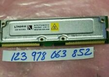 512MB RDRAM Memory Module - (1 x 512MB) - 800MHz PC800 - ECC - RDRAM - 184PIN