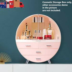 Fashion Drawer Makeup Storage Box Bathroom Brush Lipstick Holder Desktop Holder