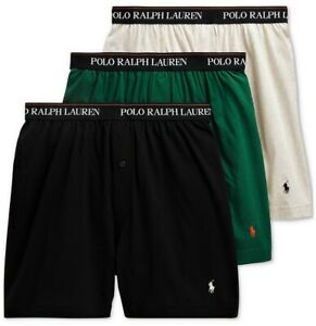 Polo Ralph Lauren 3 PACK KNIT BOXERS Classic Reinvented Underwear NWT  $42.50