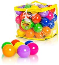 Soft Plastic Kids Play Balls ? Non Toxic, 50 Phthalate And BPA Free - Crush