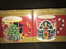 SUSAN WINGET 2- HOLIDAY CERAMIC MUG by TIS CHRISTMAS SEASON
