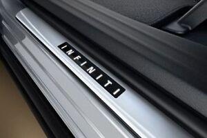 INFINITI JX35 QX60 OEM Illuminated Kick Plates - 999G6-RZ120