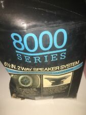 sparkomatic 8000 series 6 1/2 in 2 way speaker system