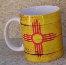Coffee Mug Explore America New Mexico State Flag NEW 11 ounce cup with gift box