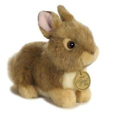 "L@@K Aurora Baby Bunny 4.5"" Tan 26256 Stuffed Animal Soft Plush Baby Toy NEW"