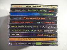 Confidential Doo Wop Vols.1-10 Compilation CD Set RARE!! Einstein