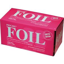 PROCARE Highlighting Hair Foil Pink Roll 100mm x 100m