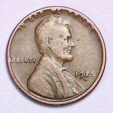 1925-D Lincoln Wheat Cent Penny LOWEST PRICES ON THE BAY!  FREE SHIPPING!