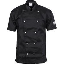 DNC Workwear Unisex Traditional Chef Jacket - Short Sleeve (1101)