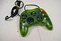 OEM Original Microsoft Xbox Controller Green - Tested - **Read
