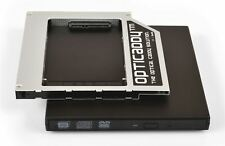 Opticaddy SATA-3 HDD/SSD Caddy+boîtier DVD Dell Latitude E6420 E6430 E6430s