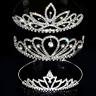 Tiara Diadème Parure pour Cheveux Bijou Mariée Strass Mariage Couronne Couronne