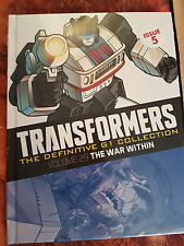 HACHETTE GRAPHIC NOVEL TRANSFORMERS G1 ISSUE 5 WAR WITHIN - NEW AND SEALED