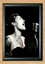Billie Holiday Chicago Retro Wall Home Decor Photo Poster Picture Print A4