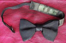 Akco satin acetate bow tie Men's vintage 1960s stylish evening formal dress wear