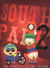 South Park - The Complete Second Season (DVD, 2004, 3-Disc Set)