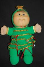 Cabbage Patch Kid CPK Doll Green Christmas Tree Star Green Outfit  Plush 12""