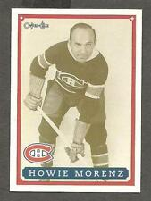 1993 OPC Fanfest Puck Set, Card #13, Canadiens' Howie Morenz