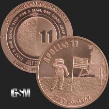 1 oz Copper Round - Apollo 11 50th Anniversary