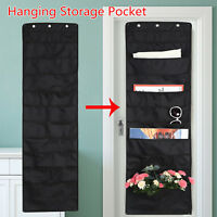 Door Wall Hanging Storage Bag 10 Grids Books Organizer Toys Container Pocket