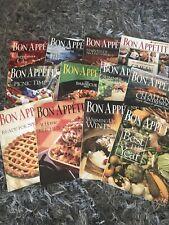 Bon Appétit Magazine 1997 Complete Set 12 Issues, Cooking, Baking, Recipes