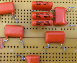 33nF 47nF 68nF 470nF 630V dc  Polyester Film Capacitors Multi Qty