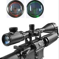 6-24x50 AOEG Hunting Scope Red Green Mil-dot Dual illuminated Optical Scope