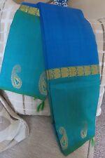 Pure  Kanchipurom Silk Saree, Blue