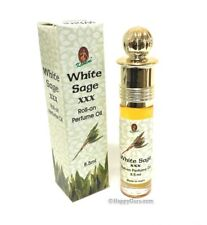 """White Sage"" Triple Strength XXX Perfume Oil By ""Kamini"" 8.5Ml Bottle"