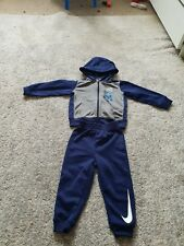 Nike Infant Boys tracksuit 18-24 Months blue and grey