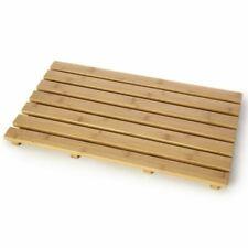 Wooden Duckboard Natural Wood Bathroom Bath Shower Anti Slip Mat Duck Board