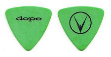 Dope Virus (Andre Michel Karkos) Green Bass Tour Guitar Pick