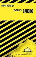 """Cliff notes for Voltaire's """"Candide"""" by Francois Marie Arouet (Paperback)"""