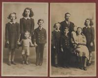 Dunoon, Argyll and Bute. Family. Vintage postcards. M'Ceachie's Studio qp606