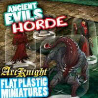 Arcknight Flat Plastic Miniatures - Ancients Evil Horde - 31 2D Minis
