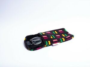 Glasses / phone Case; Metropolitan Line London Underground S Stock Seat Moquette