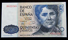 017-INDALO- Banco de España, Madrid. 500 Pesetas Octubre 1979. Sin serie. SC/UNC