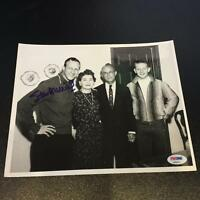 1950's Stan Musial Signed Autographed Original Photo From Musial Estate PSA DNA