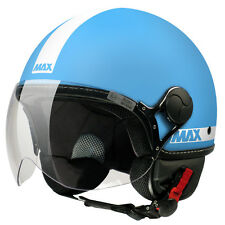 NEW CASCO POWER TURCHESE OPAC MET. MAX HELMETS MADE IN ITALY OMOL E3 M