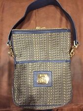 NEW Marc by Marc Jacobs Logo Jacquard Airliner Pilot Bag Purse Handbag