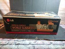 LG LV880 VCR VHS VIDEO REGISTRATORE A CASSETTE PLAYER con telecomando LG & Box