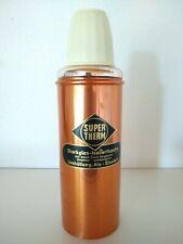 Vintage Isolierflasche Super Therm Retro Starkglas Alu Alfi