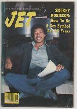Jet MagazIne Jul 9th 1981 Smokey Robinson Cover