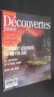 Rivista Settimanale per Lettera X Junior N° 33 Gallimard Be
