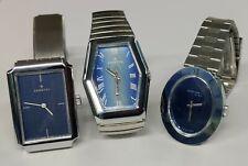 Lotto Stock 3 Orologi Vintage NOS a Carica  Anni '70 Swiss Made fondo magazzino